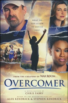 Overcomer, softcover  -     By: Chris Fabry