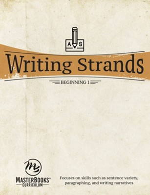 Writing Strands Beginning 1   -     By: Dave Marks