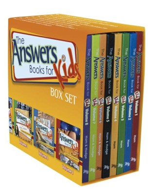 Answers Books for Kids Box Set   -     By: Ken Ham, Bodie Hodge, Cindy Malott