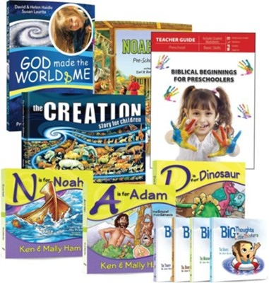 Biblical Beginnings Preschool Package   -