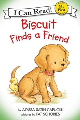 Biscuit Finds a Friend   -     By: Alyssa Satin Capucilli     Illustrated By: Pat Schories
