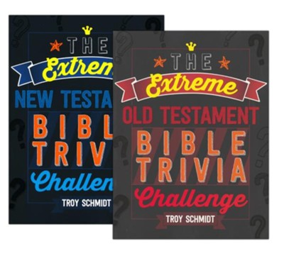 Extreme Bible Trivia Challenge - 2 Pack  -     By: Troy Schmidt