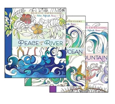 Peace, Love, Joy Coloring Book - 3 Pack  -