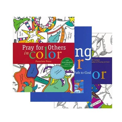Pray & Color 3 Pack  -