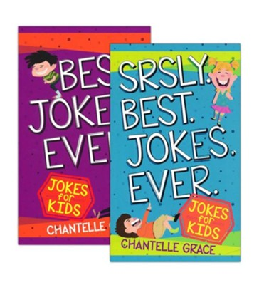 Best Jokes Ever - 2 Pack  -     By: Chantelle Grace