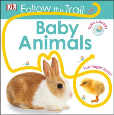 Follow The Trail: Baby Animals  -