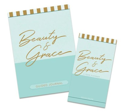 Beauty & Grace Pocket Planner and Beauty & Grace Journal,  2-Pack  -