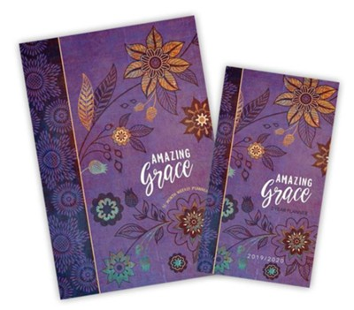 Amazing Grace 2-Year Pocket Planner & 2019 Amazing Grace 16-Month Planner, 2-Pack  -