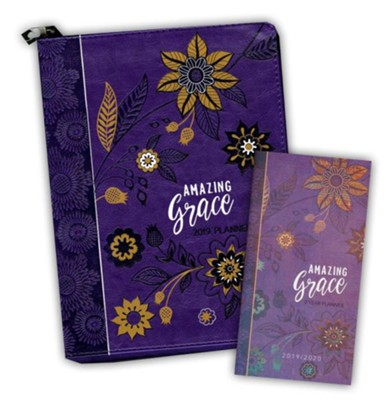 Amazing Grace 2-Year Pocket Planner and 2019 Amazing Grace   Ziparound Planner, 2-Pack  -