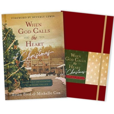 When God Calls the Heart at Christmas Devotional & Journal-2 Pack    -     By: Brian Bird, Michelle Cox