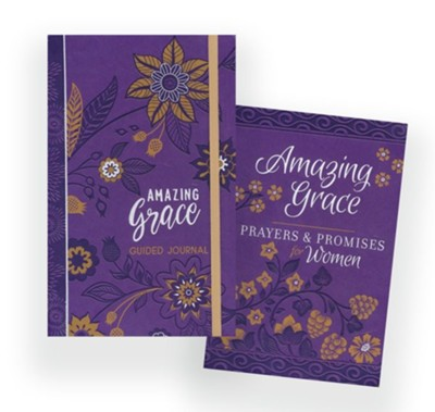Amazing Grace Book and Journal 2 Pack  -