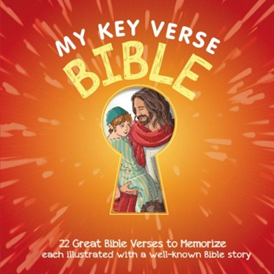 My Key Verse Bible: 22 Great Bible Verses to Memorize  -     By: Vanessa Caroll