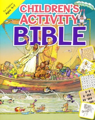 Children's Activity Bible: For Children Ages 4-7  -     By: L. Jensen