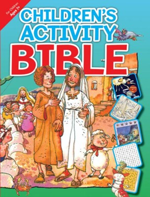 Children's Activity Bible: For Children Ages 7 and Up  -     By: L. Jensen