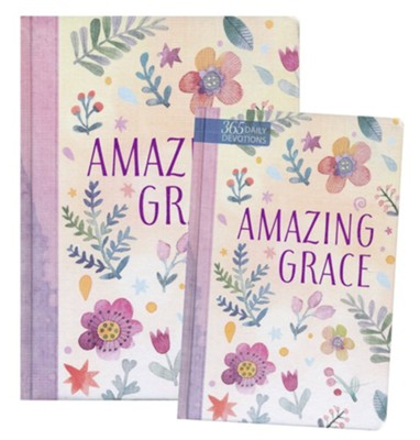 Amazing Grace Devotional and Journal - 2 Pack  -