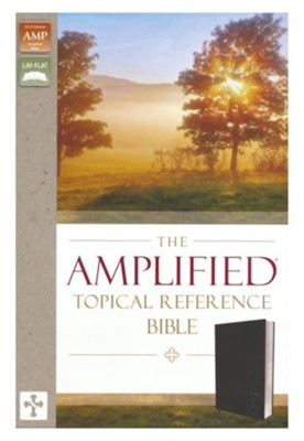 Amplified Topical Reference Bible, Bonded Leather, Black  -     Edited By: Lockman Foundation