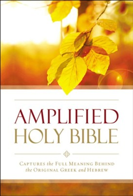 Amplified Outreach Bible, Paperback, Case of 24   -