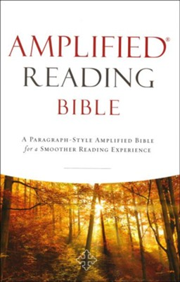 Amplified Reading Bible, Hardcover  -     By: Lockman Foundation