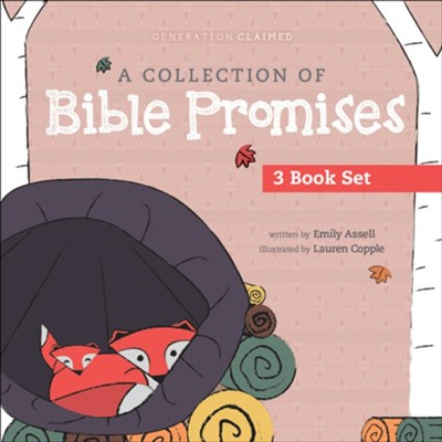 Collection of Bible Promises 3-book set: You Are / Tonight / Chosen  -     By: Emily Assell     Illustrated By: Lauren Copple