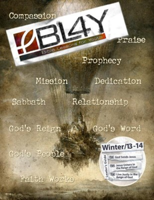 Bible Lessons for Youth Winter 2013-2014 Leader - eBook  -     By: Tim Gossett, Sally Hoelscher, Jacob Fasig