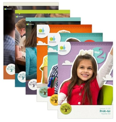 Answers Bible Curriculum Unit 2 All Levels Complete Teacher  Set  -