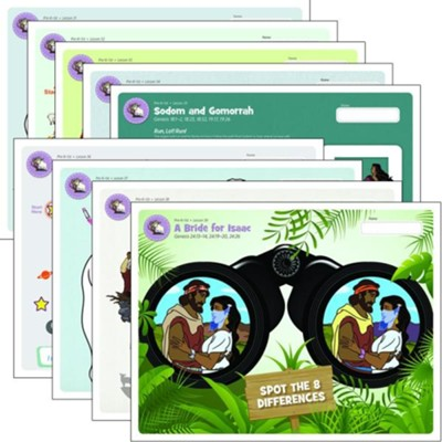 Answers Bible Curriculum PreK-1 Unit 4 Take Home Sheets (1 Pack; 2nd Edition)  -