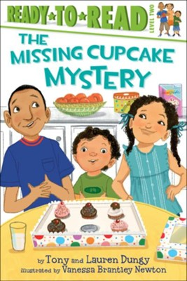 The Missing Cupcake Mystery, Paperback   -     By: Tony Dungy, Lauren Dungy     Illustrated By: Vanessa Brantley Newton