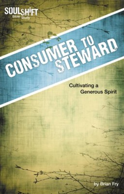 Consumer to Steward: SoulShift Bible Study: devotional studies to fit your life - eBook  -     By: Brian Fry