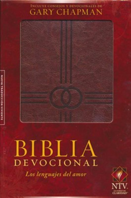 NTV Biblia devocional los lenguajes del amor, NTV The Love Languages Devotional Bible  -     By: Gary Chapman