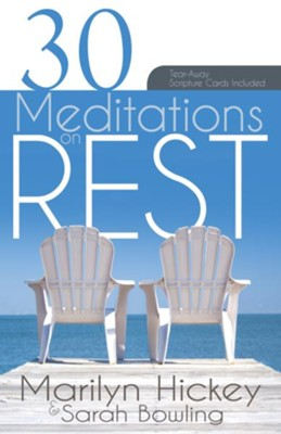 30 Meditations on Rest - eBook  -     By: Marilyn Hickey