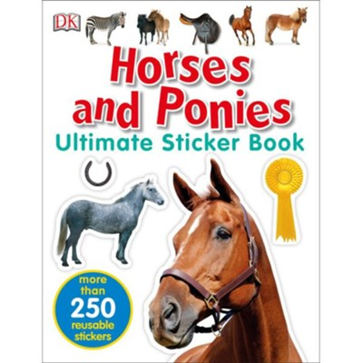 Ultimate Sticker Book: Horses and Ponies  -     By: DK