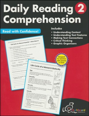 Daily Reading Comprehension Workbook, Grade 2   -
