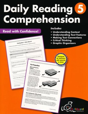 Daily Reading Comprehension Workbook, Grade 5   -