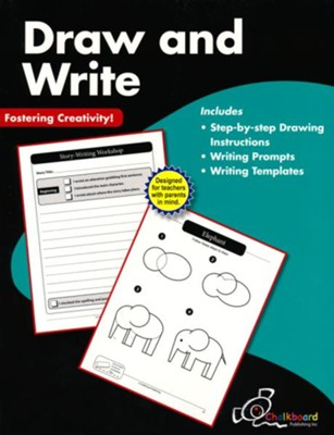 Draw and Write Workbook, Grades 1-2   -