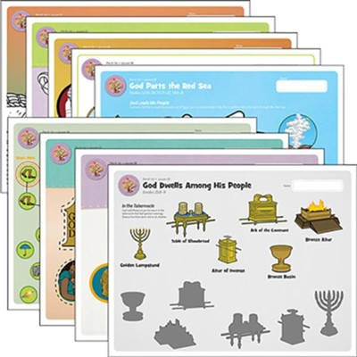 Answers Bible Curriculum PreK-1 Unit 6 Take Home Sheets (1 Pack; 2nd Edition)  -