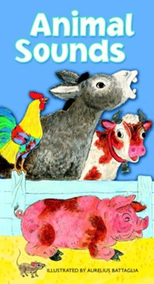 Animal Sounds - eBook  -     By: Golden Books