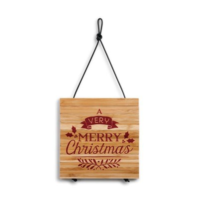 A Very Merry Christmas Expandable Trivet  -