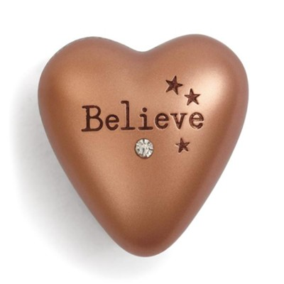 Believe, Art Heart Token  -