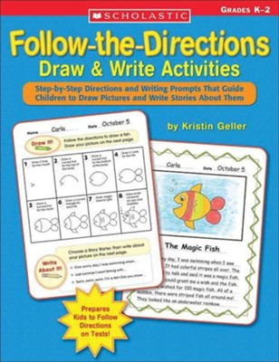Follow-the-Directions Draw & Write Activities  -     By: Kristin Geller