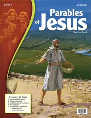 Parables of Jesus 1 Flash-a-Card   -