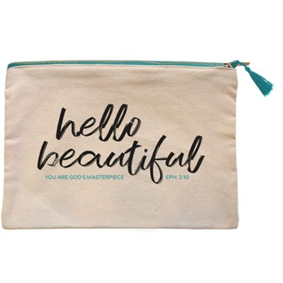 Hello Beautiful Carry-All Bag  -