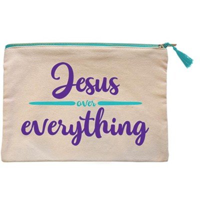 Jesus Over Everything Carry-All Bag  -