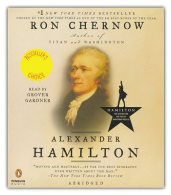 Alexander Hamilton Audiobook on CD  -     By: Ron Chernow