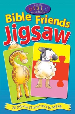 Bible Friends Jigsaw Puzzles, set of 20   -     By: Juliet David