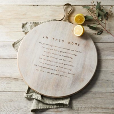 In this Home Large Serving Board  -     By: Melody Bober