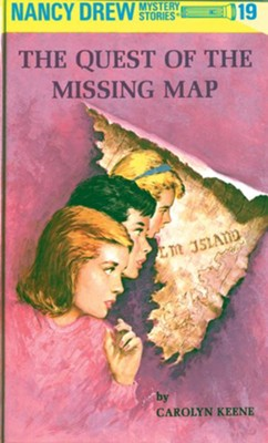 Nancy Drew 19: The Quest of the Missing Map: The Quest of the Missing Map - eBook  -     By: Carolyn Keene