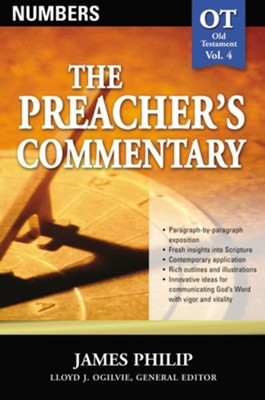 The Preacher's Commentary Vol 4: Numbers   -     By: James Philip