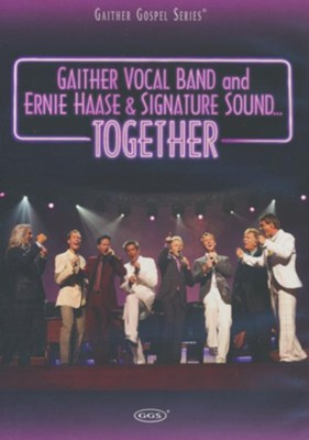 Together, DVD   -     By: Ernie Haase & Signature Sound