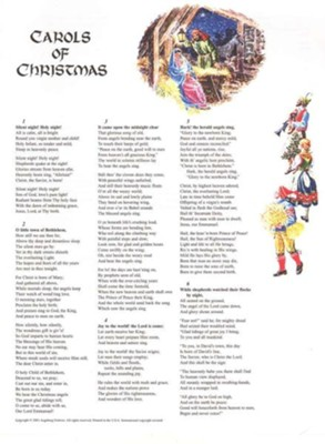 Carols of Christmas, Words-Only Edition   -