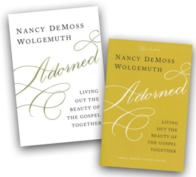 Adorned Book and Study Guide  -     By: Nancy DeMoss Wolgemuth